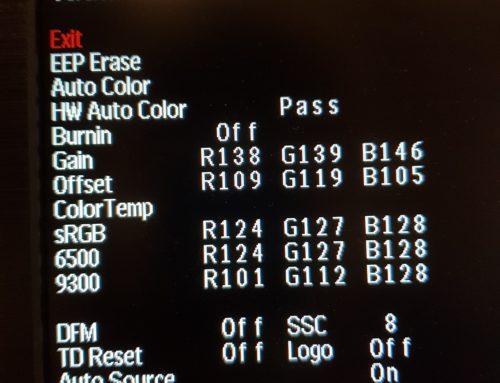 【筆記】LCD的工程模式