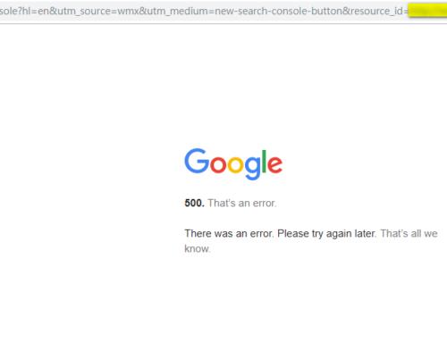 【日記】Google Search Console 無法連結