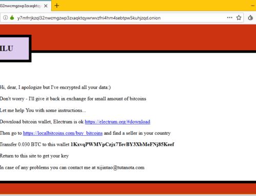 【病毒】Apache/2.4.25 (Debian) Lilocked