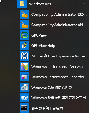 Windows Kits