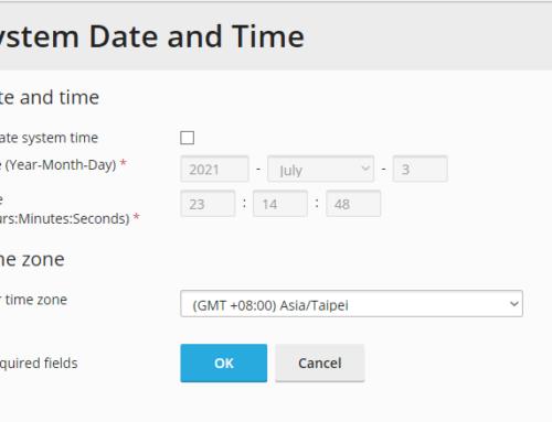 【PLESK】時間調整 Time Zone