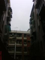 早上出門時的天空